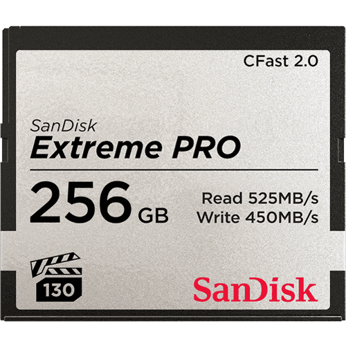 SanDisk Extreme PRO<sup>®</sup> CFast™2.0-geheugenkaart