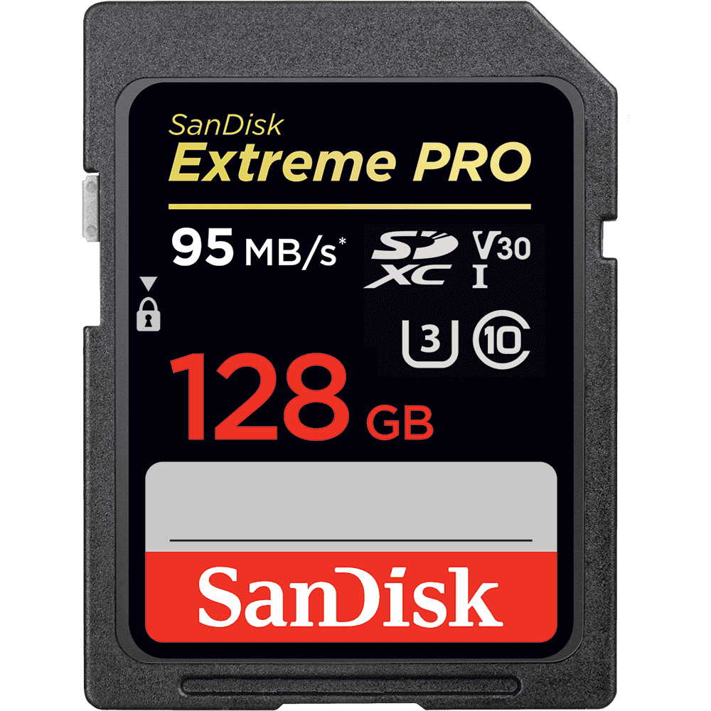 SanDisk Extreme PRO<sup>®</sup> SDHC™/SDXC™ UHS-I geheugenkaarten